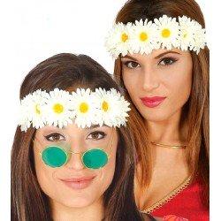 Diadema con Flores Blancas