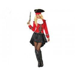 Disfraz de Capitana Pirata para mujer ML