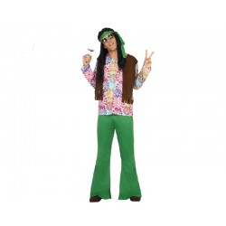 Disfraz de Hippie para...