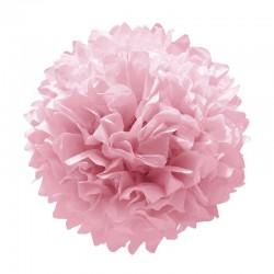 Pompon Rosa Colgante
