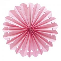 Abanico Collgante Rosa 50CM.