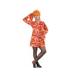 Disfraz de Años 70 Vestido...