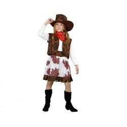 Disfraz de Vaquera para niña