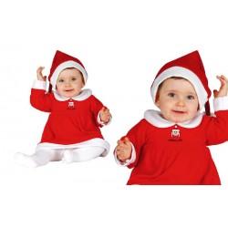Disfraz de Mama Noel bebé...