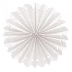 Abanico Colgante Blanco 50 cm.
