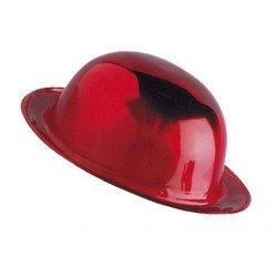 Bombin Metalizado Rojo