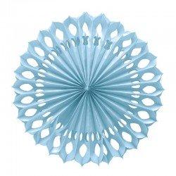 Abanico Colgante Azul 50 cm.