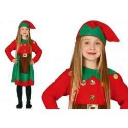 Disfraz de Elfa 3-4 años