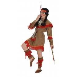 Disfraz de India lujo niña 8-10 años