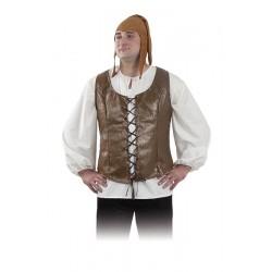 Chaleco Medieval para  hombre