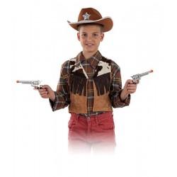 Chaleco Vaquero Infantil T.10