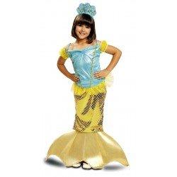 Disfraz de Sirenita 3-4 Años
