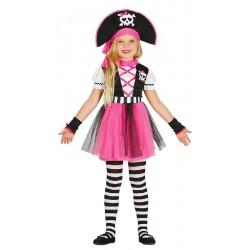Disfraz de Pirata Pink 7-9...