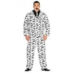 Disfraz de Suit Moustache T.L