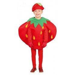 Disfraz de Fresita para niños