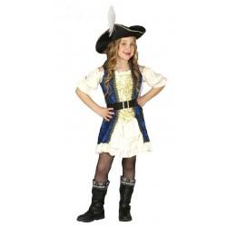 Disfraz de Pirata para niña...