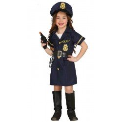 Disfraz de Policia para niña