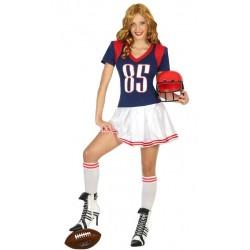 Disfraz de Jugadora de Rugby mujer ML