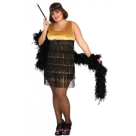 Disfraz de Charleston para mujer XL