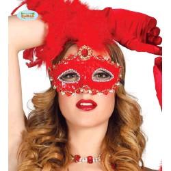 Antifaz Veneciano Rojo...