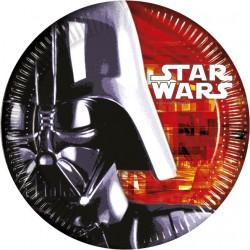 Platos de Star Wars 8 un de 23 cm.