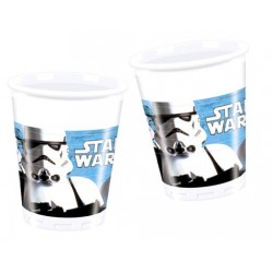 Vasos de Star Wars 8 un.