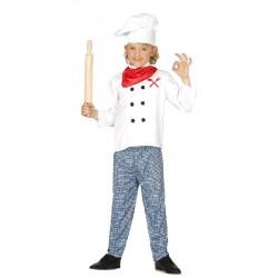 Disfraz de Cocinero niño de...
