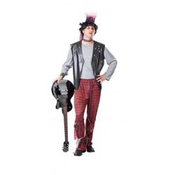 Disfraz de Punky Hombre adulto