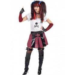 Disfraz de Punky mujer