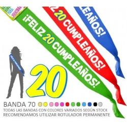 Banda 70 Feliz 20 Cumpleaños